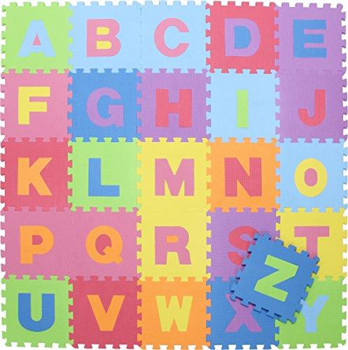 不二貿易:キッズパズルマット(26枚セット)