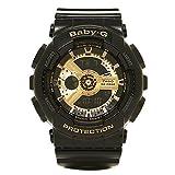 (カシオ) CASIO カシオ 時計 CASIO BA110 1A G-SHOCK Gショック Baby-G ベビーG 腕時計 ウォッチ ブラック/ゴールド [並行輸入品]