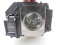 交換用プロジェクターランプelplp60Epson ex5200/ex7200/PowerLite 1220/PowerLite 1260/PowerLite s10+/PowerLite s9
