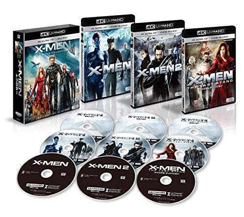 X-MEN 4K ULTRA HD トリロジーBOX (9枚組)[4K ULTRA HD + Blu-ray]