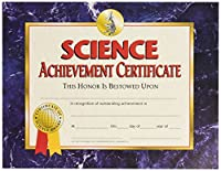 HAYES SCHOOL PUBLISHING VA571 Science Achievement Certificate 8-1/2 x 11 Size 0.1 Height 8.6 Width 11.1 Length (Pack of 30) [並行輸入品]