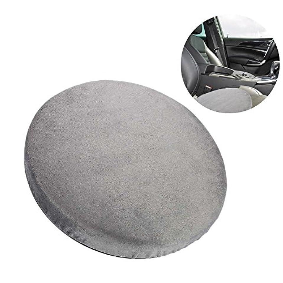 文法花に水をやるトレイルの座席クッション、360°回転クッション車のオフィスおよび家の使用のための滑り止めの回転イスのパッドは腰痛および圧力を取り除く