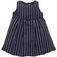 西松屋 [EFD] 総柄ツイルジャンパースカート 【80cm?90cm?95cm】 95 ストライプ