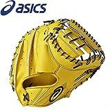 asics(アシックス)  野球 硬式 ミット ゴールドステージ スピードアクセル キャッチャー BGH7GC ブラウンゴールド LH (右投げ用) メンズ