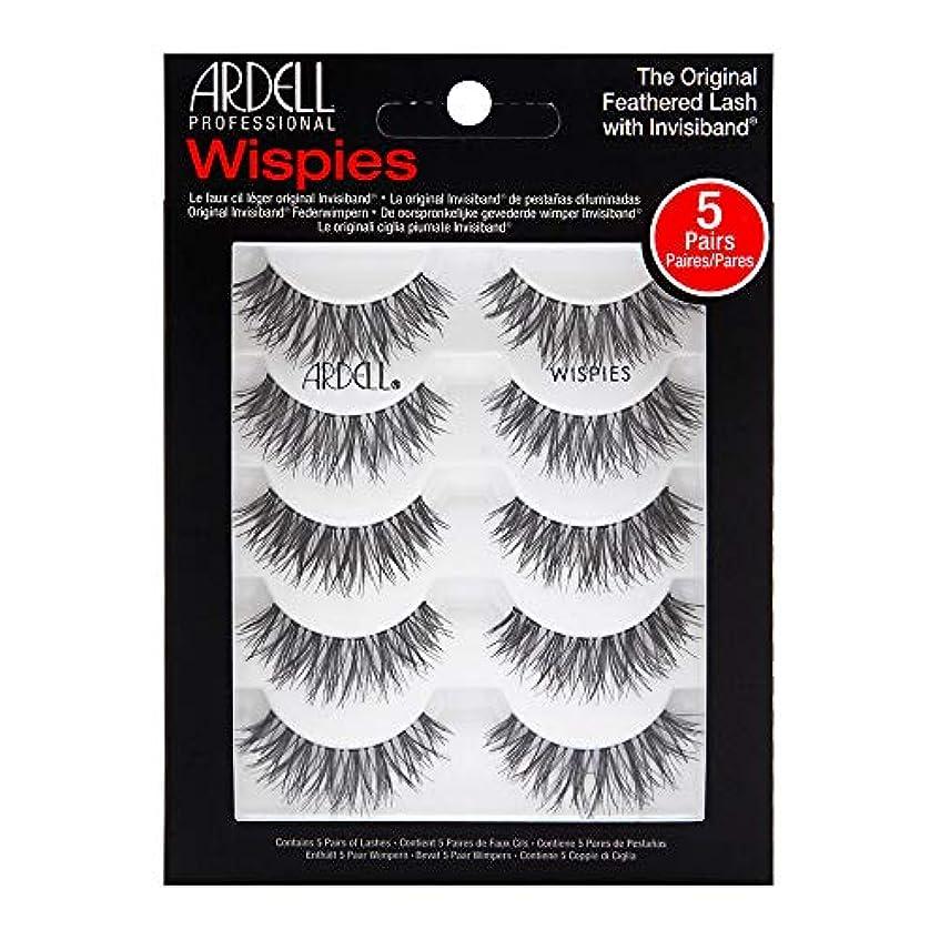 レイプシャッフル焼くArdell 5 Pack Lashes - Wispies - 68984