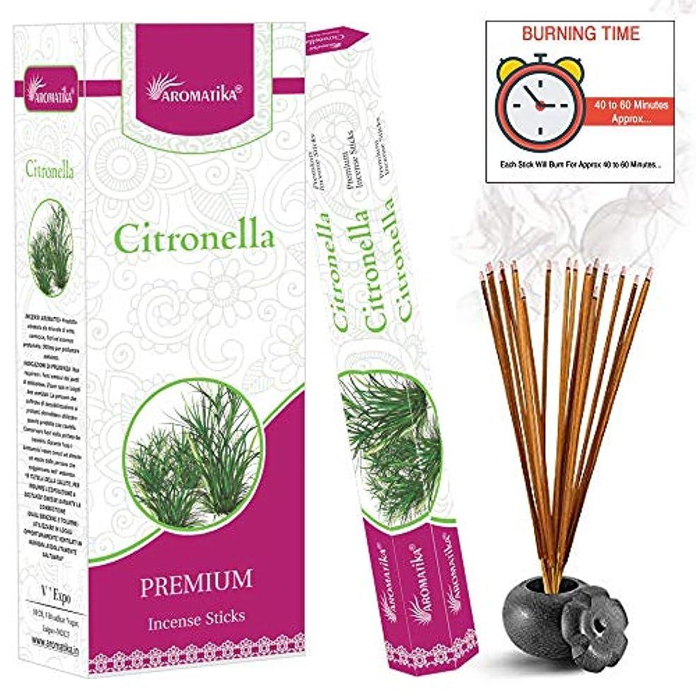 竜巻おもしろい一節aromatikaシトロネラPerfume Incense Sticks ( Hexa )