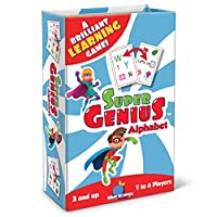 Super Genius - Alphabet Card Game [並行輸入品]