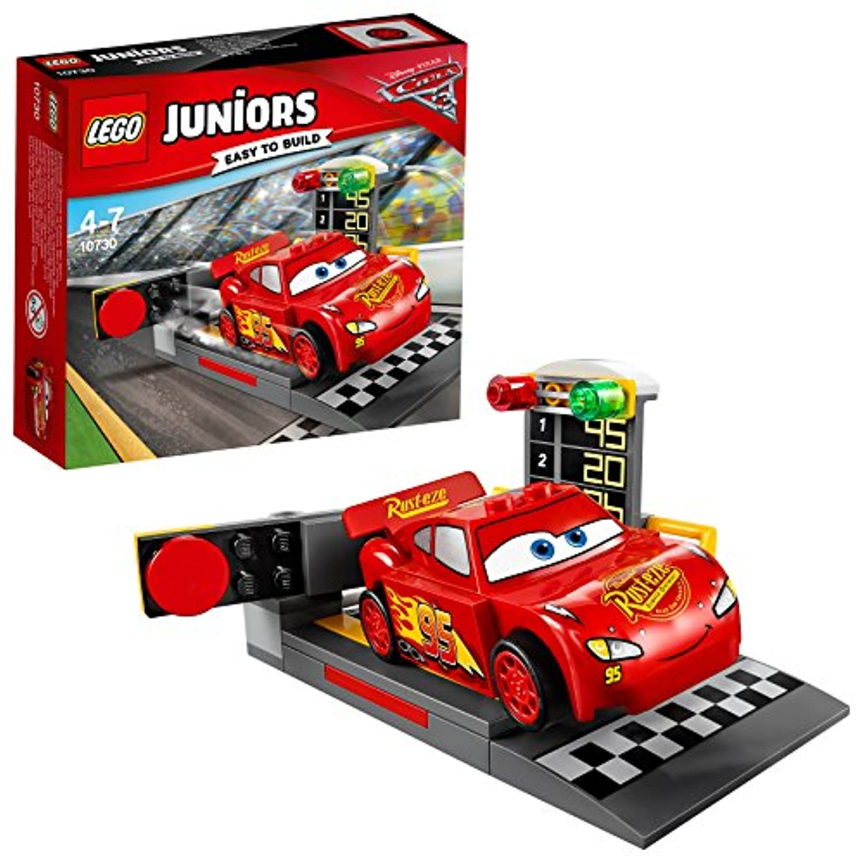 レゴ (LEGO) ジュニア ディズニー カーズ ライトニング?マックィーンのスピードランチャー 10730