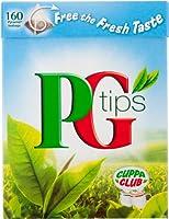 PG Tips Original (PGティップス オリジナルティー 160袋)- 160 Bags / 500g【海外直送品】【並行輸入品】