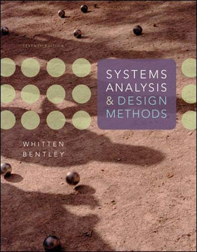 Download Systems Analysis and Design Methods 0073052337