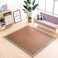 MUMA カーペット、畳/ベビークロールマット/籐マット/籐マット/マットレス、研究用/居間/寝室、バリなし (Color : HT-1, Size : 2×3m)