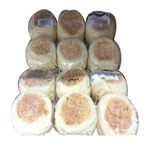 【冷凍】■コストコ■【EAST BALT BAKEIES】オーセンティック イングリッシュ マフィン 12個入り