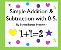 Simple Addition & Subtraction with 0-5 Workbook [並行輸入品]