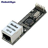 W5500 Ethernet LAN Network モジュール Arduino logic 3.3V/5V. バージョン アップグレード W5100. [並行輸入品]