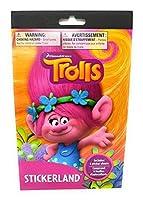 TROLLS - Stickerland Stickers - 4 Sheets [並行輸入品]