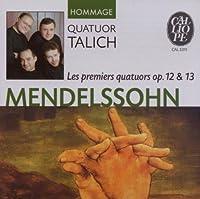 Quatuors E Cordes/Op.12 Et 13