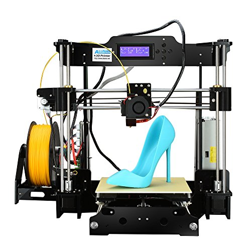 ALUNAR DIY未組立 Reprap Prusa i3 3Dプリンターキット 組立てビデオSDカード付属 フィラメント(PLA)少量同梱 (M605)