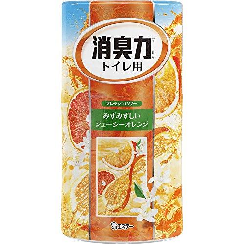 トイレの消臭力 消臭芳香剤 トイレ用 トイレ オレンジの香り 400ml