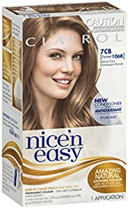 Clairol Nice 'N Easy, 7CB Natural Dark Champagne Blonde, 1 Applica