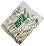 割らずに使える 竹製 ポリ完封箸 楊枝入 割れていて使いやすい PK-009 200膳 (100膳 ×2袋セット)