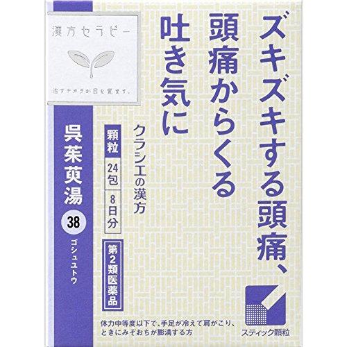 【第2類医薬品】呉茱萸湯エキス顆粒 24包