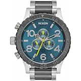NIXON(ニクソン)腕時計 51-30 クロノグラフ A083-2304 Blue/Green A0832304 [並行輸入品]