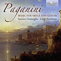 Niccolo Paganini: Music for Guitar & Viola by Simone Gramaglia