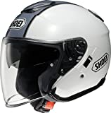 Best オープンフェイスヘルメット - ショウエイ(SHOEI) バイクヘルメット ジェット J-Cruise CORSO(コルソ) TC-6(WHITE/SILVER) M Review