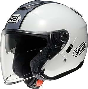 ショウエイ(SHOEI) バイクヘルメット ジェット J-Cruise CORSO(コルソ) TC-6(WHITE/SILVER) L (頭囲 59cm)
