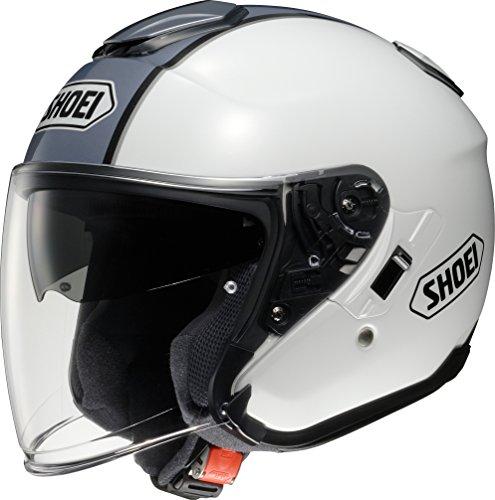 ショウエイ(SHOEI) バイクヘルメット ジェット J-Cruise CORSO(コルソ) TC-6(WHITE/SILVER) M (頭囲 57cm)