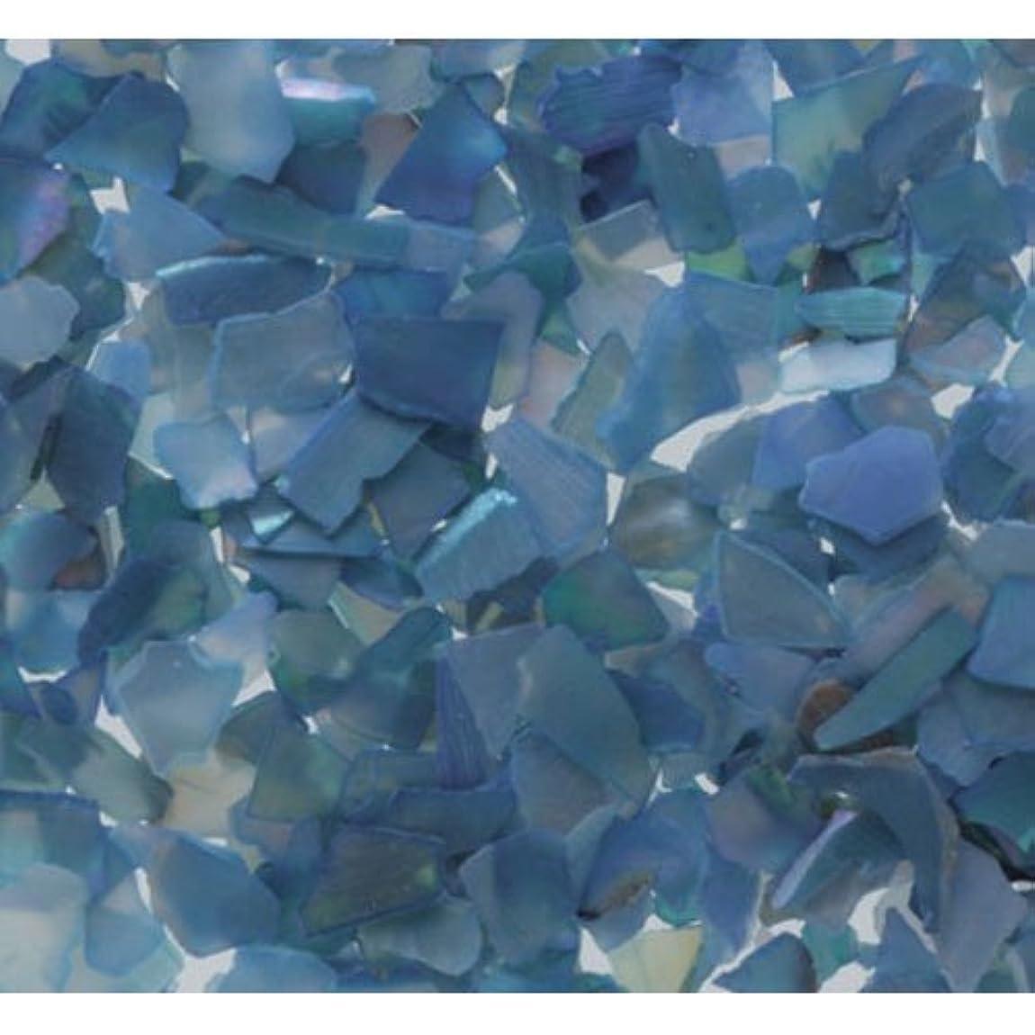 選出する楽しませる数ピカエース ネイル用パウダー シェルグレイン M #327 ブルー 1g