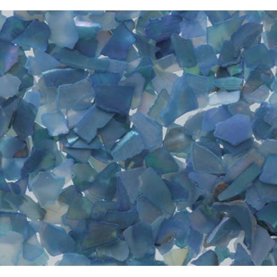 ポンド石のうんざりピカエース ネイル用パウダー シェルグレイン SS #307 ブルー 1g