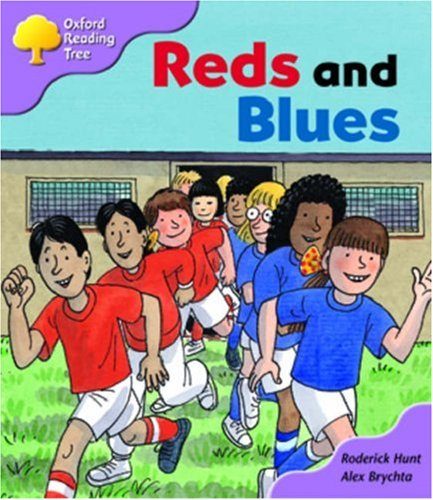 Oxford Reading Tree: Stage 1+: First Sentences: Reds and Bluesの詳細を見る