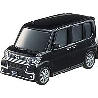 ダイハツ タント カスタム (DAIHATSU Tanto custom) 1/43 プルバックミニカー ブラック