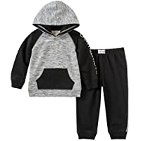 Calvin Klein Baby Boys 2 Pieces Hooded Jog Pant Set - Buttons