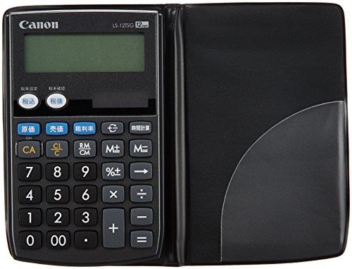 Canon 12桁電卓 LS-12TSG SOB グリーン購入法適合 商売計算機能付