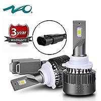 HB3 9005 Led Headlight Bulbs NAO High Beam HB3 Led Headlight Bulb Kits Ultra Bright 72W 7600LM 6500K/White [並行輸入品]