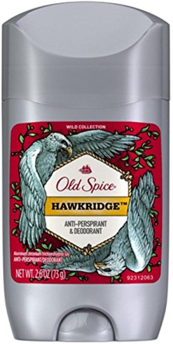 戦術特権服を洗うオールドスパイス ホークリッジ【バニラ】人気デオドラント Old Spice Invisible Solid Hawkridge 73g[並行輸入品]