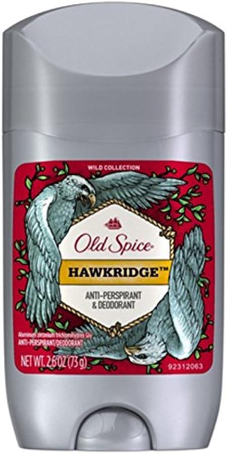 急勾配の猛烈な不十分なオールドスパイス ホークリッジ【バニラ】人気デオドラント Old Spice Invisible Solid Hawkridge 73g[並行輸入品]