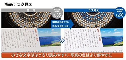 日立 LEDシーリングライト [ラク見え]搭載タイプ ~12畳 (調光・調色) LEC-AHS1210F
