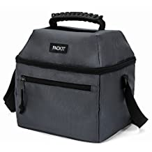 PackIt Freezable 9 Can Utility Cooler, Charcoal