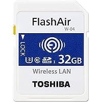 東芝 無線LAN搭載SDHCメモリカード 32GB Class10 UHS-1Flash Air SD-UWA032G
