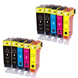インク 【互換インク】 キャノン canon キヤノン BCI-7e 9 5MP 5色セット×2 pixus MP830 MP810 MP800 MP610 MP600 MP500 MX850 iP5200R カートリッジ プリンターインク 汎用インク インクカートリッジ 純正 汎用