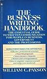 The Business Writing Handbook