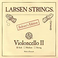 Larsen Soloist 4/4 Cello D String Soft Alloy-Steel [並行輸入品]
