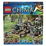 crocs レゴ LEGO 70014 チーマ CHIMA ワニ族・隠れ家要塞 The Croc Swamp Hideout 海外直送品・並行輸入品