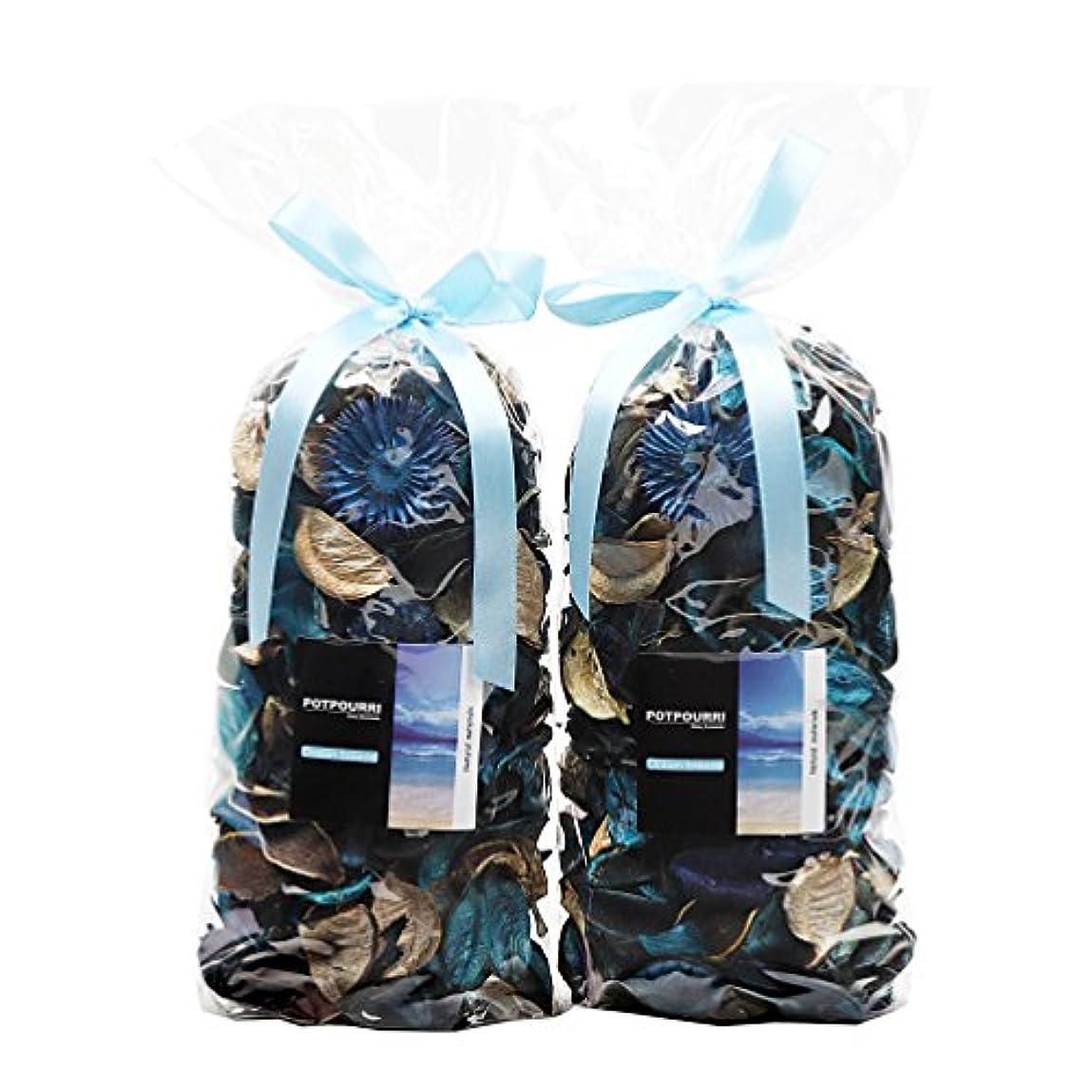 マウントバンク光沢のあるエレメンタルQingbei Rina ポプリ 青色 230g 海のポプリ ギフト 手作りの自然素材