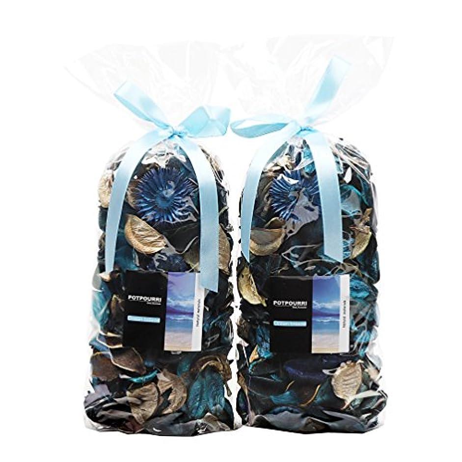 エミュレートする神社革新Qingbei Rina ポプリ 青色 230g 海のポプリ ギフト 手作りの自然素材