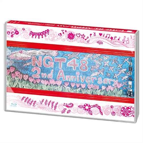 NGT48 2nd Anniversary(16Pブックレット+生写真1枚ランダム封入)(特典DISC付)[Blu-ray 3枚組]