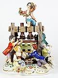 マイセン 人形 特別限定制作 フィギュア グループ フィギュリン 群像 Winepress シェーンハイト作 展示未使用 完全体